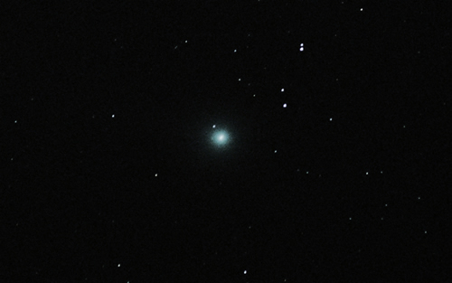 Comet Lovejoy by Dave McCracken of Lincoln Astronomical Society