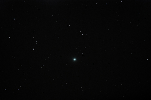 Comet Lovejoy taken by Dave McCracken of Lincoln Astronomical Society