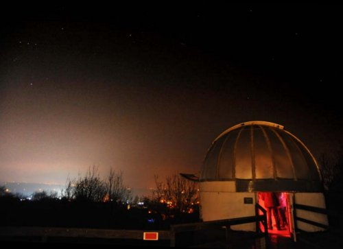 Observatory by Lewis Baucutt of Lincoln Astronomical Society