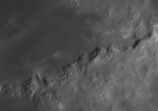 Lunar Apennine Mountains Image by Phil Norton