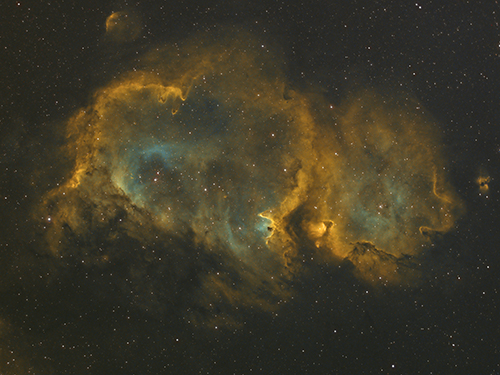 IC 1848 by Mick Hunt of Lincoln Astronomical Society
