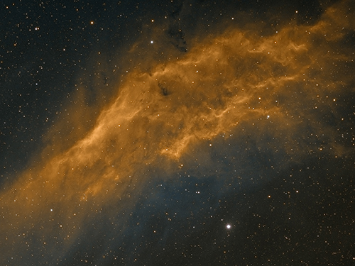 NGC1499 by Mick Hunt of Lincoln Astronomical Society