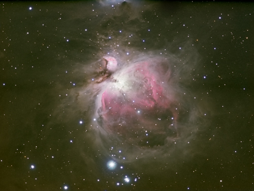 Orion Nebula by Mick Hunt of Lincoln Astronomical Society